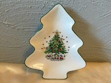 Salem Collection ~ Christmas Eve ~ Tree Shaped Dish 6 1/4""