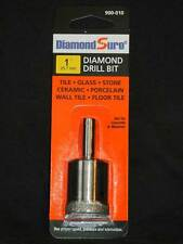 "1"" 25.7 mm DiamondSure Core Bit for Tile Glass Stone Ceramic Porcelain Gran"