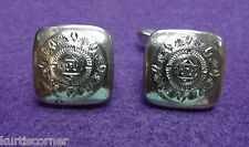 I.M.P. Sterling Silver Hand Engraved Sterling Silver Cufflinks
