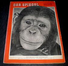Der Spiegel 01/55 Titelbild: Amerikanischer Fernseh-Schimpanse J. Fred Muggs