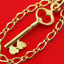 110 GENUINE REAL 14K YELLOW ANTIQUE VERMEIL GOLD AUTHENTIC CHARM BRACELET BANGLE
