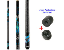 Viper Underground 50-0653 Rock & Roll Pool Cue Stick 18-21 oz & Joint Protectors