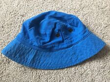BNWOT Next Floppy Summer Hat. Boys Or Girls. Age 3-6 Years. Royal Blue