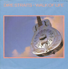 "7"" - DIRE STRAITS - WALK OF LIFE / ONE WORLD - VERTIGO 880994-7 - DE 1985"