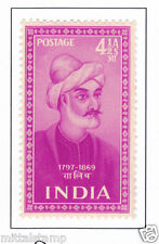 PHILA305 INDIA 1952 SINGLE MINT STAMP OF INDIAN SAINTS AND POETS GHALIB MNH