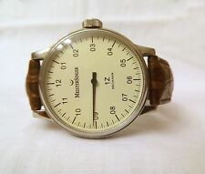 Very Rare MeisterSinger Mechanik Single Hand Watch
