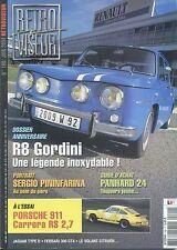 RETROVISEUR n°190 06/2004 R8 GORDINI PORSCHE 911 CARRERA RS 2.7 PANHARD 24