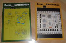 dachbodenfund zeiss oberkochen prospekt information 2x 1982 info heft alt