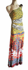 STUNNING LONG ONE SHOULDER STRAP DRESS for TALL WOMEN UK SIZE 10/12, PARTY new