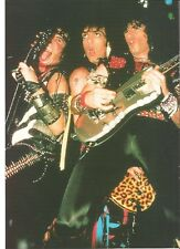 KISS a lot of plectrums magazine PHOTO / mini Poster 11x8 inches