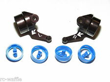 KYO33001B KYOSHO INFERNO MP9 TKI4 1/8 BUGGY ALUMINUM STEERING KNUCKLES