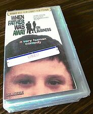 When Father Was Away on Business (VHS, 1992 Hard Plastic Case) English Subtitles