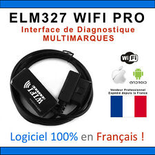 Interface Diagnostique ELM327 WIFI PRO MULTIMARQUES - Android Iphone Ipad OBDII