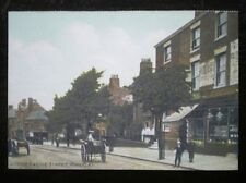 POSTCARD B42-3 LEICESTERSHIRE HINCKLEY - UPPER CASTLE ST EARLY 1900'S
