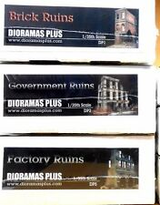 Dioramas Plus Specially Priced 3 kit Combo! 1/35 Diorama Base Save $45!