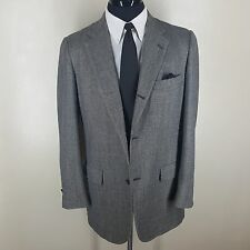 BROOKS BROTHERS '346' MADE IN U.S.A. SPORT COAT 3RD BUTTON ROLL CENTER VENT 42L