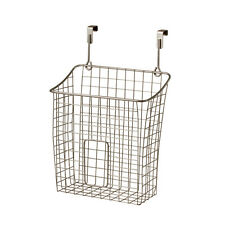 "15"" Kitchen Bathroom Pantry Cabinet-Door Chemical Organizer Wire-Bin Rack Holder"