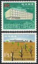 Ryukyus 1962 Trees/Buildings/Nature/Plants/Government/Architecture 2v set n26614