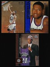 (3) 1996 Marcus Camby Rookie Card RC Lot - Skybox SP Upper Deck