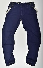 G-Star Raw, Arc Jeans - Arc 3D Loose Tapered Braces COJ - B Blue W38 L34 Neu !!