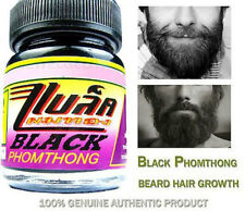 BLACK PHOMTHONG FACIAL HAIR GROWTH CREAM GROW BEARD, MOUSTACHE SIDEBURN