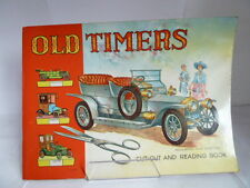 OLD TIMERS CUT-OUT & READING BOOK 'ROLLS-ROYCE SILVER GHOST 1906' c1950s UNDATED