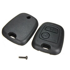 2 Buttons Remote Keyless Key Fob Case Shell Kit For Peugoet 106 107 206 207 306