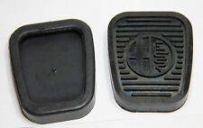 CLASSIC ALFA ROMEO 105 PEDAL COVER RUBBER WITH ALFA LOGO KIT (PAIR) - BRAND NEW