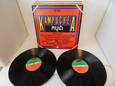 CONCERTS FOR THE PEOPLE OF KAMPUCHEA THE CLASH THE WHO QUEEN PAUL McCARTNEY 2 LP