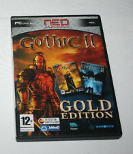 VIDEO JUEGO PC, GOTHIC II GOLD EDITION, DISCO Y MANUALE, TEXTOS EN CASTELLANO