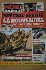 MOTO JOURNAL N°1807 COLIN EDWARDS HONDA CB 1000 R CBR RR DN-01 XL 700 TRANSALP