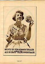 1926 Ludwig Hohlwein Poster Print Kohler Emmenthaler Kurpfalz Riesling Wine
