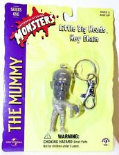 Universal Monsters - The Mummy Little Big Head Figure on Key Chain - Series One
