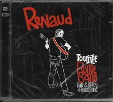 DOUBLE CD 43T RENAUD TOURNÉE ROUGE SANG PARIS BERCY + HEXAGONE 2007 NEUF SCELLE
