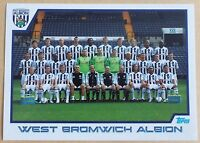 TOPPS - PREMIER LEAGUE 2012 - STICKER COLLECTION - No 399 - WEST BROM - TEAM