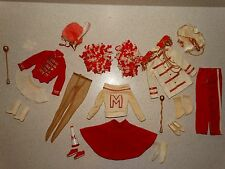 Barbie:  VINTAGE Complete PEP RALLY GIFTSET Outfits!!