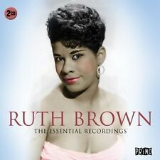 RUTH BROWN - ESSENTIAL RECORDINGS  2 CD NEU