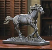 Grace & Beauty WILD STALLION HORSE STATUE Figure Sculpture NEW