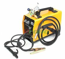 MIG 160 DUAL FLUX  & MMA ARC WELDER WELDING MACHINE & ARGON CO2 REGULATOR GAUGE