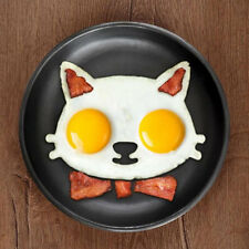 Kitchen Silicone Cat Egg Shaper Cat Fried Eggs Mould Cute Interesting Mould IM