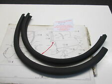 ROVER P6 REAR 'D' POST TO REAR WING RUBBER FOAM  SEAL PART NUMBER 364631