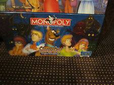Scooby Doo Board Game Monopoly Fright Fest, New and Sealed
