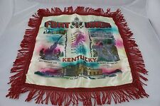 Vintage Mother & Dad Sweetheart Pillow Case US Army Fort Knox KY World War 2