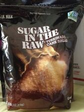 Turbinado Sugar In The Raw 6 LB. Resealable Bag New