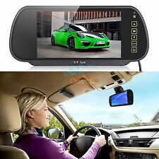 "7"" LCD Screen Car Rear View Backup Mirror Monitor+Wireless IR remote control Kit"