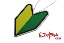 JDM Air Freshener Soshinoya Badge JapStyle Leaf Wakaba Japan Mugen