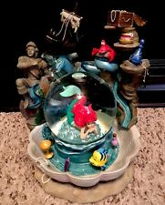 "(NEW w/BOX) LIMITED EDITION ""ARIEL'S GROTTO"" REAL WATERFALL DISNEY SNOWGLOBE!!!!"