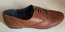 BRAND NEW CLARKS TAN LACE UP SHOES SIZE 5 / 6 / 7 / 8