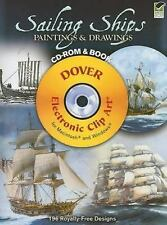 Dover Electronic Clip Art: Sailing Ships Paintings and Drawings CD-ROM and...