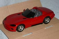 ERTL AMT 1992 DODGE VIPER RT/10 #6113 Promo Red NIB HTF